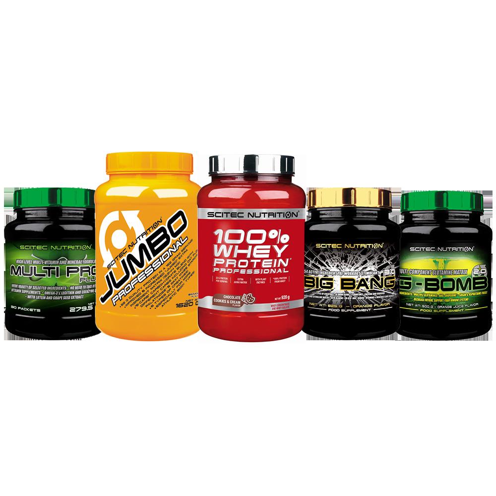 Scitec Nutrition Muskelaufbau Super Premium Stack