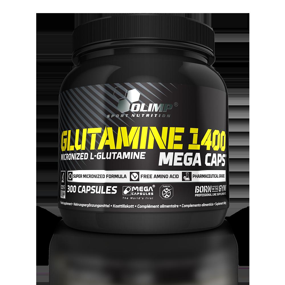 Olimp Sport Nutrition L-Glutamine 1400 Mega Caps 300 kap.