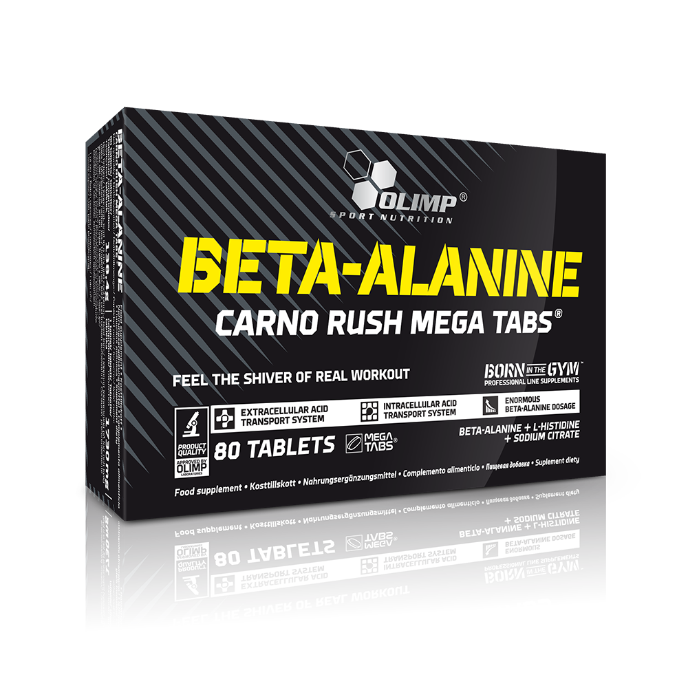Olimp Sport Nutrition Beta Alanine Carno Rush 80 tab.