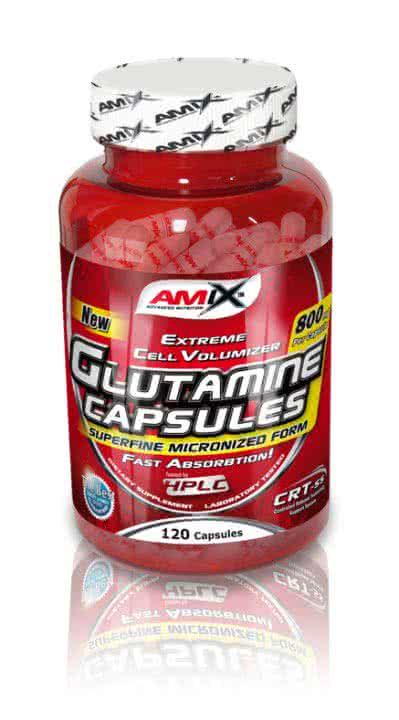 Amix L-Glutamine Caps 120 kap.
