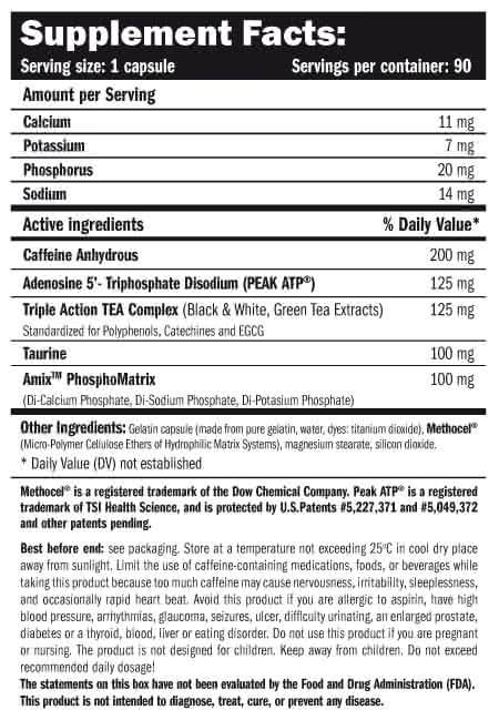 Amix ATP Energy – PEAK® ATP 90 kap.