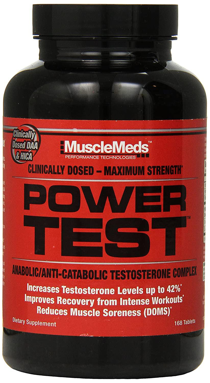 MuscleMeds Power Test 168 kap.