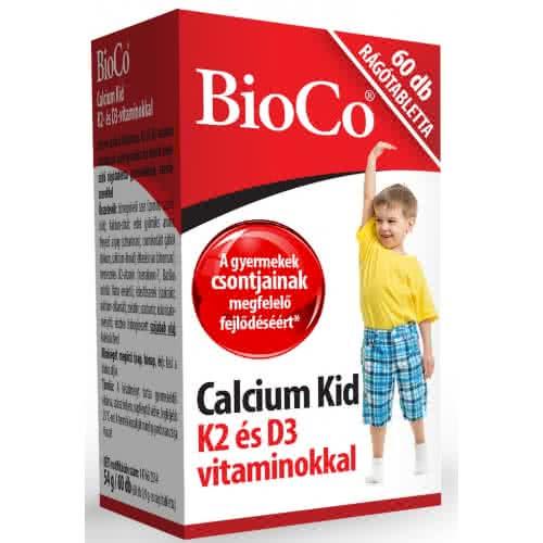 BioCo Calcium Kid 60 kau.t.