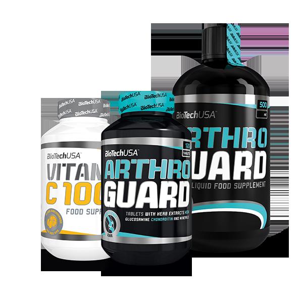 BioTech USA Arthro Guard + Liquid + Vitamin C 1000 Set