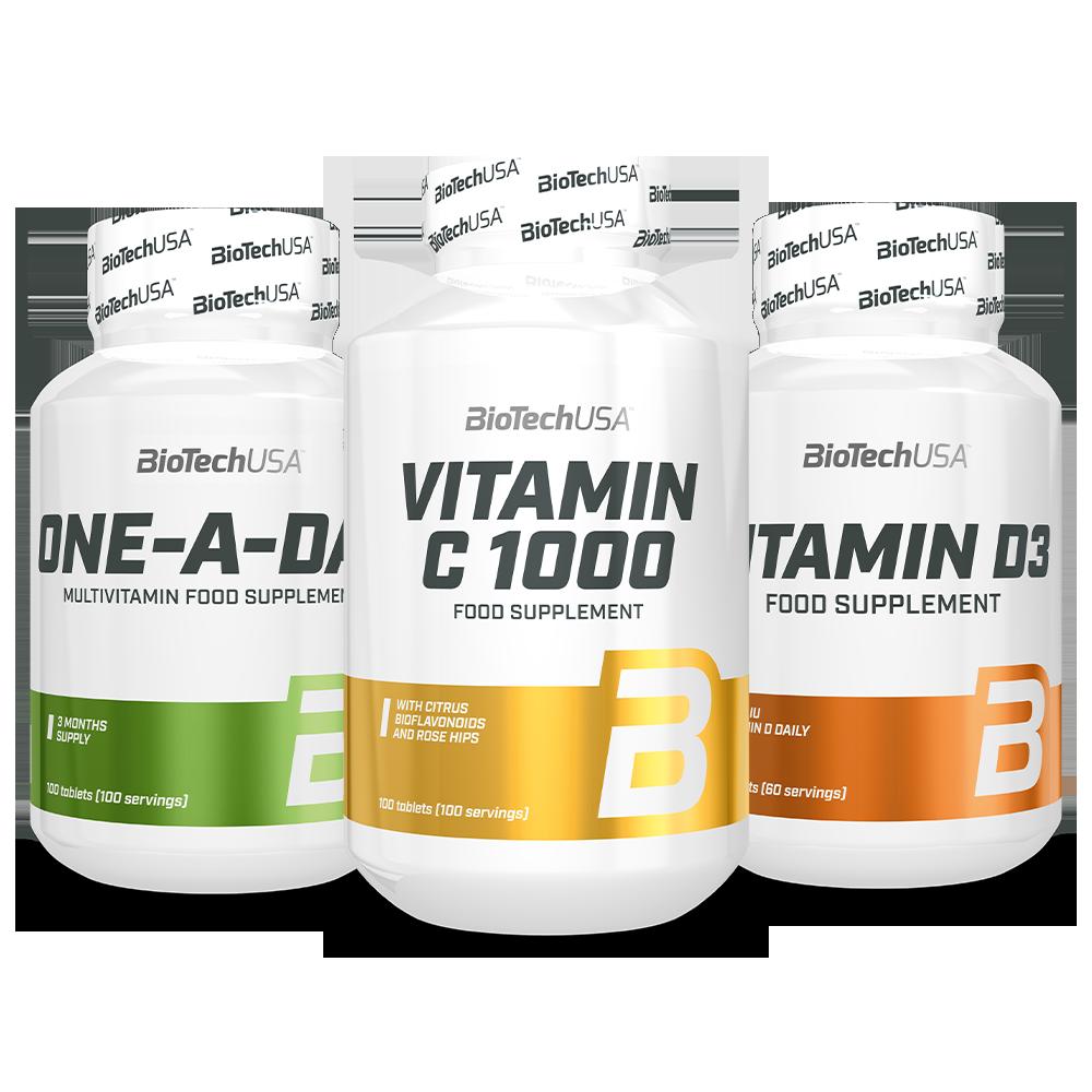 BioTech USA Biotech Winter Vitamins Pak Set