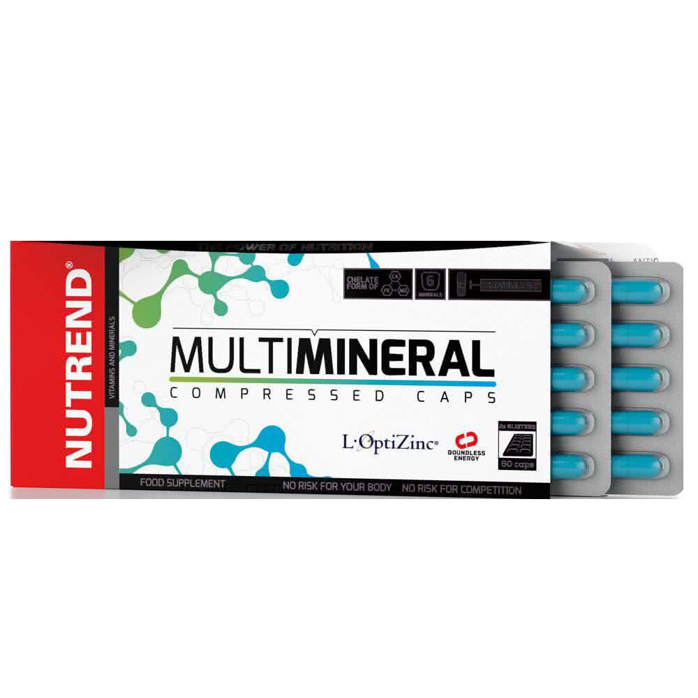 Nutrend MultiMineral Compressed Caps 60 kap.