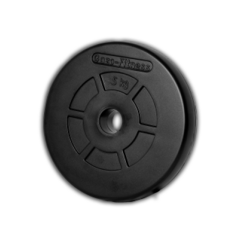 Gazo Fitness Rubber weight plate 5 kg