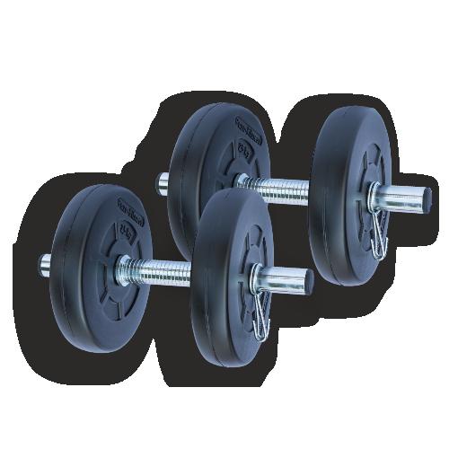 Gazo Fitness Einhandhantel Set 2x5,5kg Set