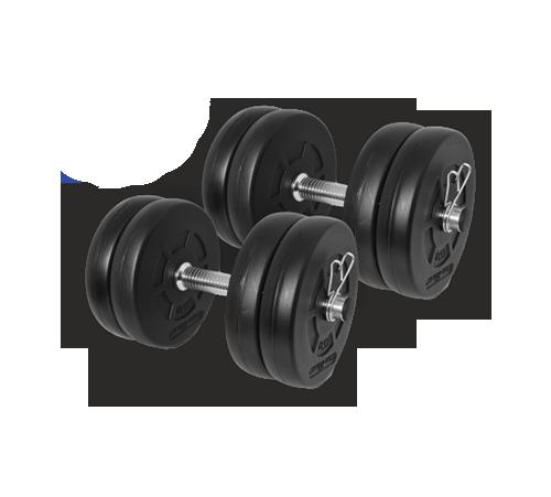Gazo Fitness Einhandhantel Set 2x10,5kg Set