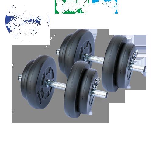 Gazo Fitness Einhandhantel Set 2x15,5kg Set