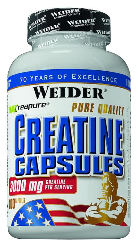 Weider Nutrition Creatine Capsules 200 kap.