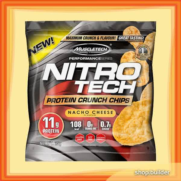 MuscleTech Nitro-Tech Protein Crunch Chips  25 gr.