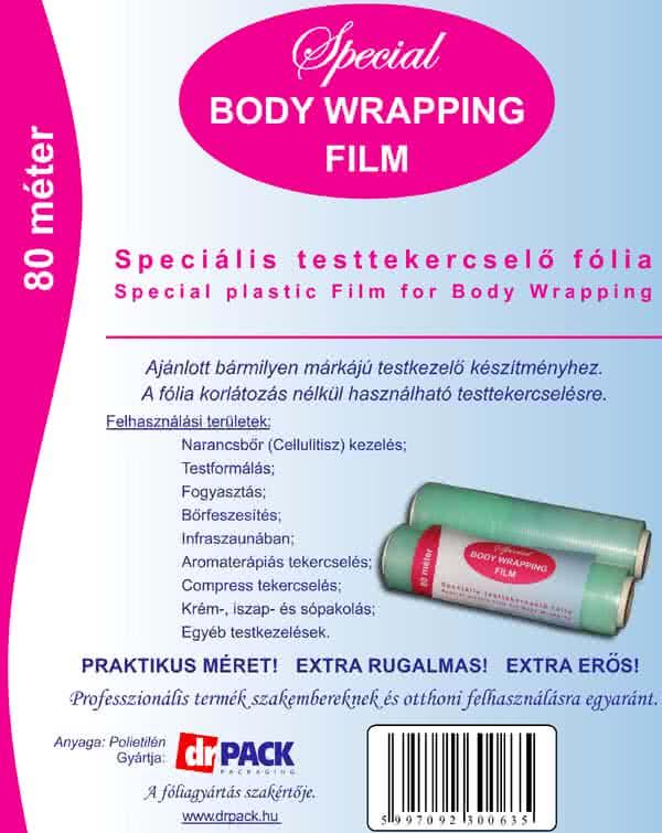 Andere Produkte Körperpackung Folie 80 m