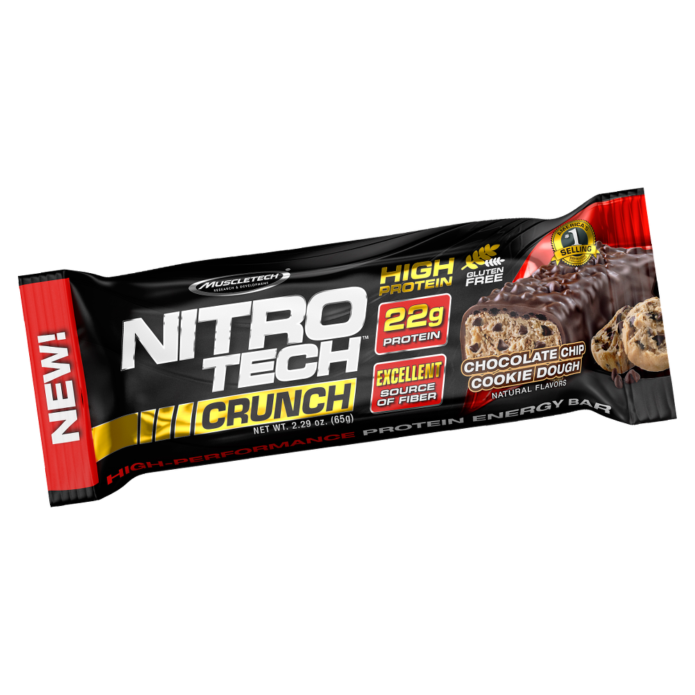MuscleTech Nitro Tech Crunch Protein Bar 65 gr.