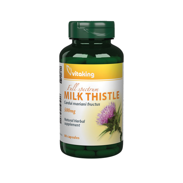 VitaKing Mariendistel (Milk Thistle) 80 kap.