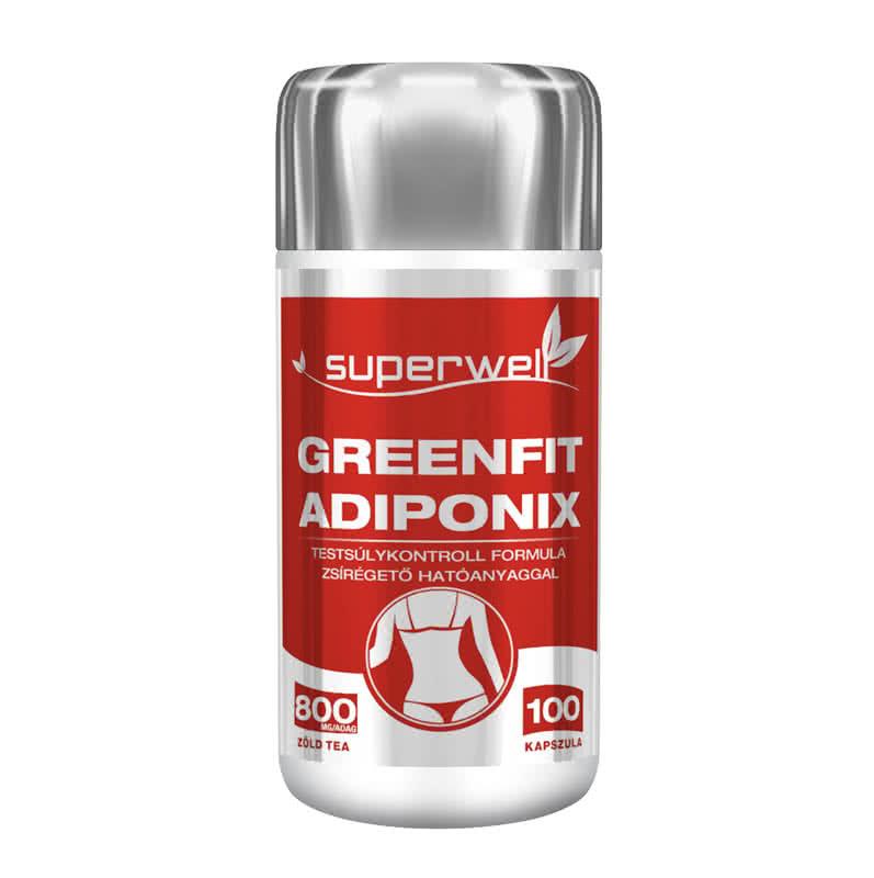 Superwell Adiponix GreenFit 100 kap.