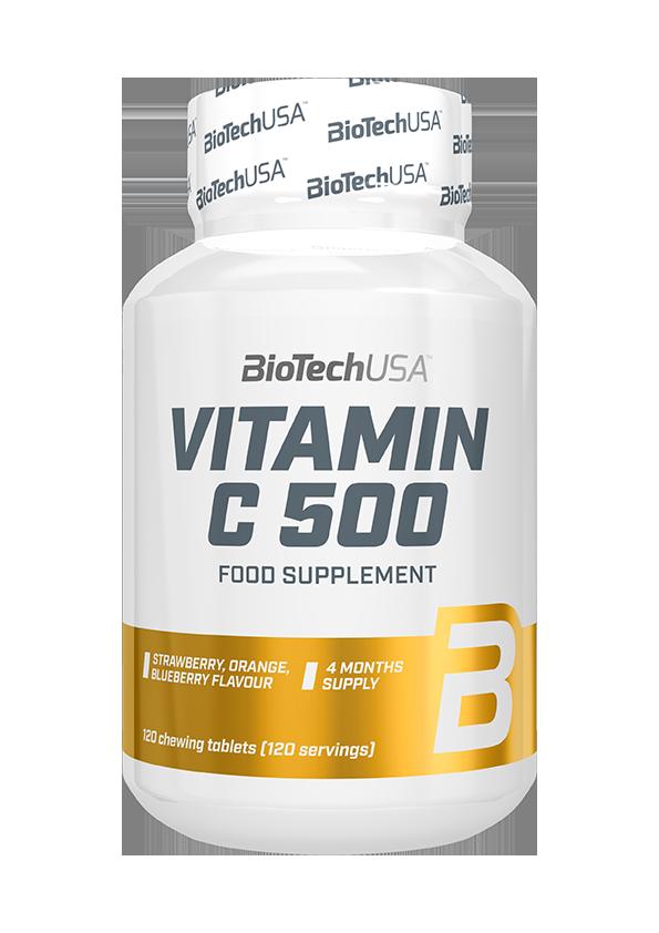 BioTech USA Vitamin C-500 Chewables 120 kau.t.