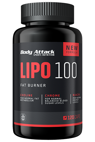 Body Attack Lipo 100 120 kap.